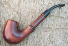 Wooden Tobacco smoking pipe Handmade from pear wood Long stem 9mm filter