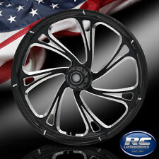 """RC Components Patriot Trigger Eclipse 23"""" Front Wheel Rim Harley Touring Bagger"""