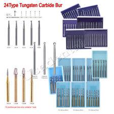 Dental Surgical Tungsten Carbide Fg Burendo Z Burs 2825mm For High Speed Hp