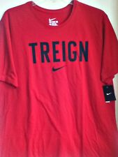 AUTHENTIC NIKE 100% COTTON TREIGN RED T SHIRT  AA8779-687
