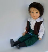 """ENGEL PUPPE BOY DOLL HANS 21"""" VINYL JOINTED POSABLE LIMITED EDITION # 79/1000"""