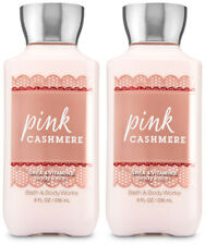 Bath and Body Works Pink Cashmere Body Lotion 8 oz X2