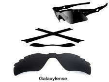 Galaxy Replacement Black Lenses + Rubber Kits For Oakley Radar Path Vented