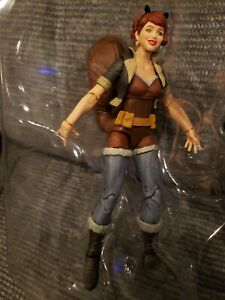 Marvel Legends Unbeatable Squirrel Girl Figure Only No Accessories Custom Fodder