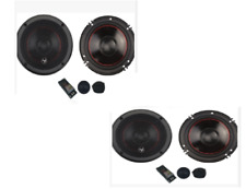 "4 Audiopipe, 6-3/4"" Component Car Speakers 175 W Rms, 350w Peak, 2-Way X-Over"
