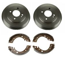 Brembo Rear Drums and Shoes Brake Kit for Honda Civic LX DX Si GX EX HX 01-05