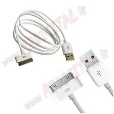 CABLE DE DATOS USB 2.0 compatible para IPHONE DE APPLE IPOD 4 4G 4S 3 G 3GS