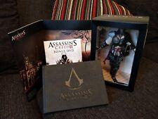 Assassins Creed 2 II Black Edition - Ezio Auditore Statue Figurine w DVD & book