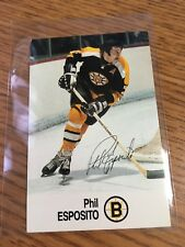 1988 ESSO NHL ALL-STAR COLLECTION PHIL ESPOSITO STAMP STICKER FRENCH ENGLISH