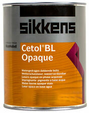 Sikkens Wetterschutzfarbe weiss 6L Cetol BL Opaque Wetterschutzlasur deckend