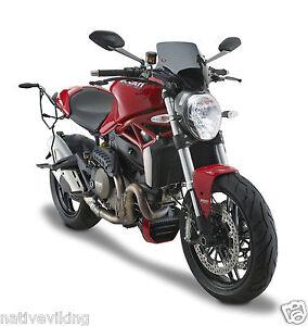 Ducati MONSTER 1200 2014 screen GIVI A7404 styling WINDSCREEN smoked IN STOCK