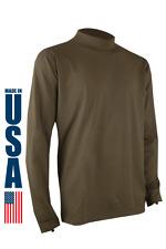 XGO Mens Phase 4 Large Long Sleeve Flame Retardant Tan Crew Shirt BRAND NEW