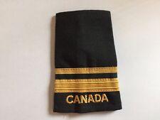 Rare Vintage Canadian Navy 2nd Lieutenant Rank Shoulder Epaulets Patch Crest 264