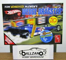 "AMT 1069 Hot Wheels Tom ""Mongoose"" McEwen Fantasy Wedge Dragster model kit 1/25"