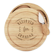 Reserved For Grandad Cheese Board Knife Set Funny Grandpa