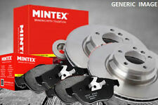 TOYOTA AVENSIS T27 MINTEX ALL MODELS REAR BRAKE DISCS & PADS 2009> + FREE GREASE