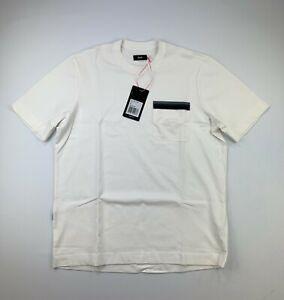 RAPHA Logo Pocket Tee Shirt White Size Medium New