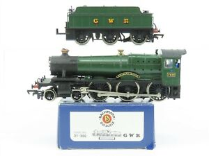 OO Scale Bachmann 31-900 GWR Great Western Green BR 4-6-0 Steam Locomotive #7802