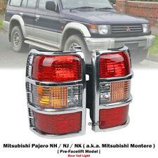 1x Pair Rear Tail Light Lamp For Mitsubishi Pajero Montero NH NJ NK 1992-1997