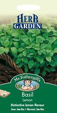 Mr Fothergills - Pictorial Packet - Herb - Basil Lemon - 300 Seeds