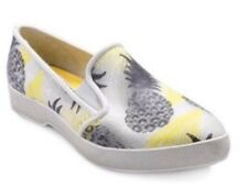 NW Cougar Waterproof Samba White Pineapple Womens 10 Black Yellow Sneakers Shoes