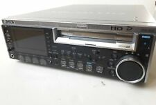 Sony PDW-F30 Deck HD XDCAM PLAYER RECORDER with LED screen and Time code