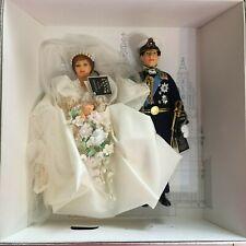 A Royal Wedding Commemorative Set, Peggy Nisbet Dolls,Prince Charles Lady Diana