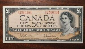 1954 Canada 50 Dollars 2817