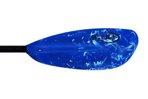 Kayak Paddle - Carbon Fiber Shaft  - Blue Blade