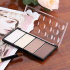 4 in 1 Four Color Contour Shading Pressed Powder Highlight Make-up Cosmetic GA