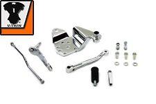 "Chrome Shifter Control Kit Shovelhead EVO Rigid Dyna Dresser 74"" FL FX FXR"