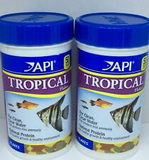 API Tropical Flakes 93g Nutrition Fish Food 3 x 31g NEW FREE UK POSTAGE