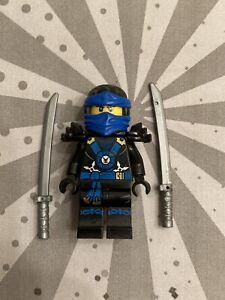 Genuine Lego JAY POSSESSION Ninjago Minifigure w Swords Deepstone armor njo152