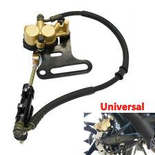 Motorcycle Dirt Bike Hydraulic Rear Disc Brake Caliper w/Master Cylinder Brake