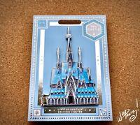 "2020 Disney Limited Release Arendelle Frozen Castle Jumbo Hinge 4.5"" Pin NWT"