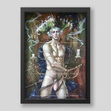 "Kirill Fadeyev authored PRINT ""WITHIN TEMPTATION"" 13x19 in nude gay art boy men"