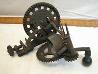 Antique Hudson Parer Co Apple Peel Peeler 1882 Patent Cast Iron Kitchen Tool
