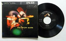 MANNY ALBAM & ERNIE WILKINS 45 EP The Drum Suite RCA Picture Sleeve JAZZ #C253