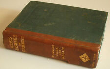 Audels Answers on Automobiles Running Care & Repair Rare 1st Edition 1912