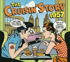 THE CRUISIN' STORY 1957 - 2 CD BOX SET - CHUCK BERRY, BUDDY HOLLY & MORE