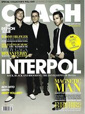 CLASH Magazine 10/2010 Interpol OPHELIA LOVIBOND Magnetic Man JAIME WINSTONE New