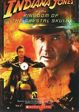 INDIANA JONES and Kingdom of the Crystal Skull - Paperback Novel by James Luceno