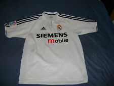 Real Madrid adidas shirt jersey M 176 cm climalite vintage