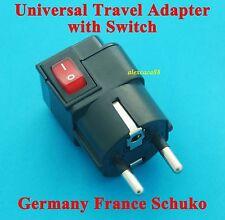 USA AUS EURO UK to Korea Germany France Universal Travel Adapter AC Power Plug