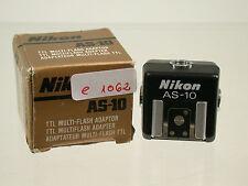 Original Nikon as-10 TTL multi Flash relámpago adaptador zapato Shoe e1062 (7)
