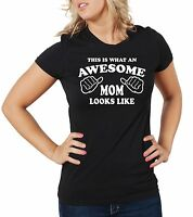 Gift for Mom Awesome Mom T-shirt Gift for Mother Mom Mommy Birthday Gift Tee