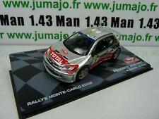 RMIT25F 1/43 IXO Rallye Monte Carlo : PEUGEOT 206 WRC 2002 BURNS/REID  #1