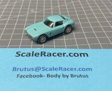 Turquoise Ferrari Berlinetta Body for Aurora Dash,AW Tjet type Chassis