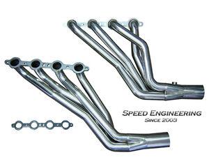 "Speed Engineering Silverado  Sierra 1 3/4"" Longtube Headers 99-06 4.8L 5.3L 6.0L"