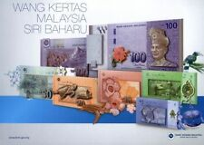 XT 12TH FIRST PREFIX AA MALAYSIA PREMIUM SET NOTES ALL MATCH SAME SERIAL NUMBER